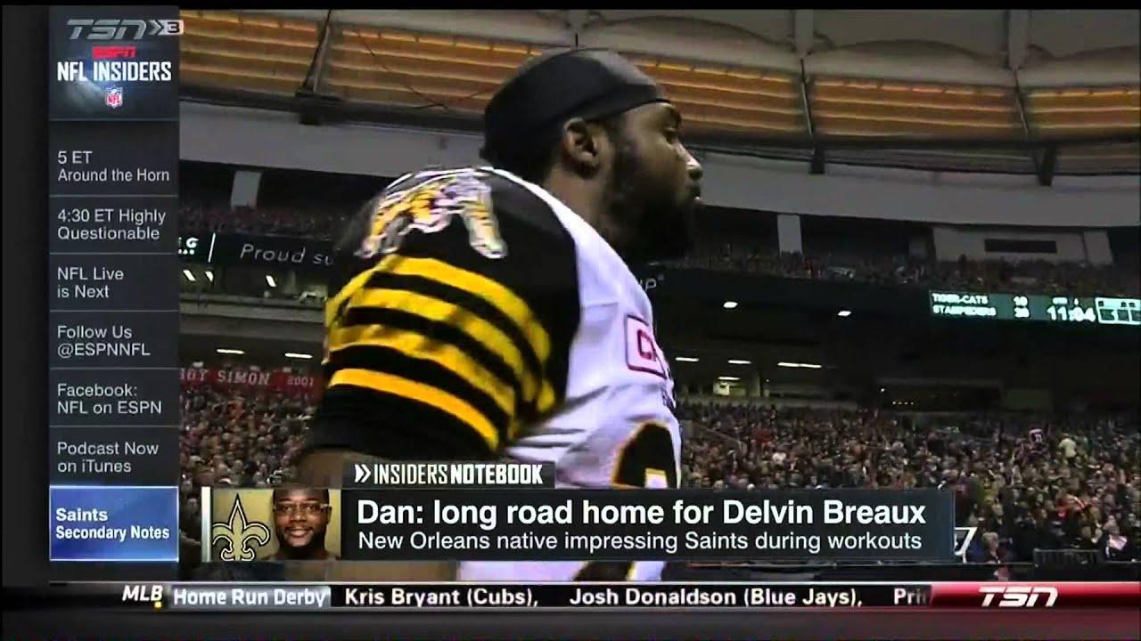 Delvin Breaux ESPN NFL Insiders July 13 2015