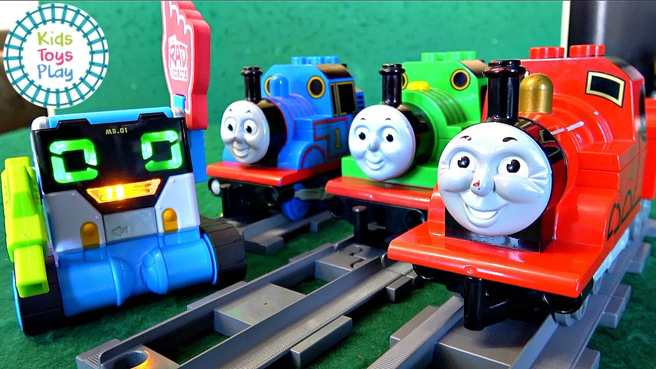 Thomas & Friends Meet the MiBRO Robot   Sodor Storytime Unboxing