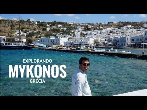 GRÉCIA   Explorando Mykonos