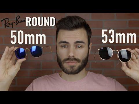 Ray-Ban Round Metal 50mm vs 53mm