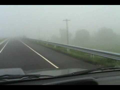 Foggy day at SCTEX Dinalupihan Exit