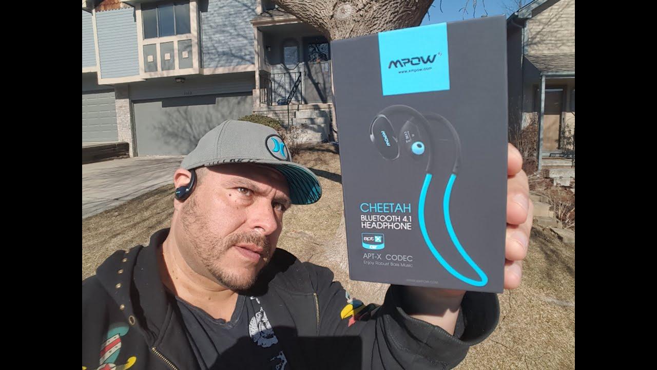 mpow bluetooth headphones instructions