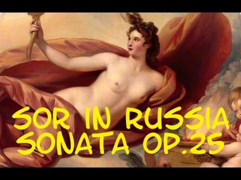 Lawall Sor in Russia Sonata op. 25