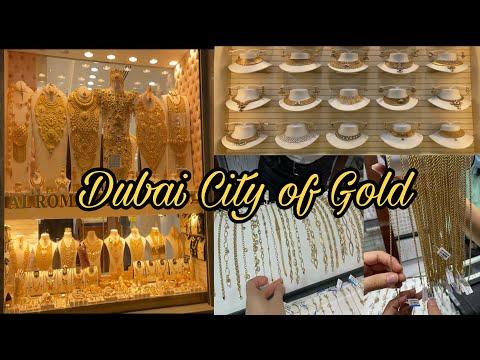 DUBAI GOLD MARKET (GOLD SOUK) 2021 || 4K VIDEO