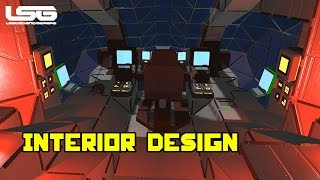 Space Engineers - Interior Design, Small Ship Gone Large