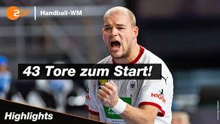 Die deutschen handballer sind mit einem kantersieg gegen uruguay in handball-weltmeisterschaft Ägypten gestartet. das dhb-team deklassierte im ersten ...