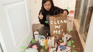 organize & clean with me!