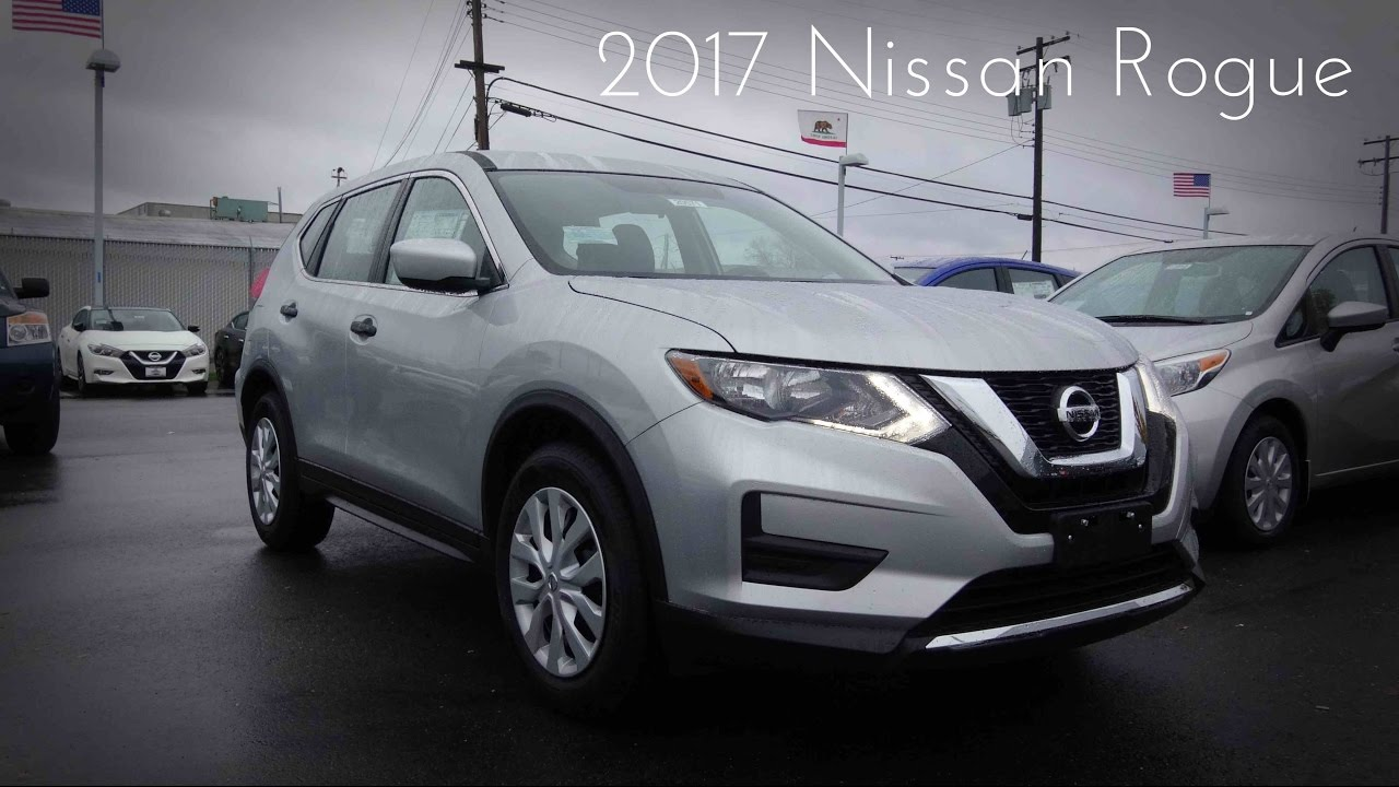 2017 Nissan Rogue S 2 5 L 4 Cylinder Review