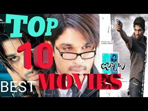 TOP 10 SUPER HIT MOVIES OF ALLU ARJUN