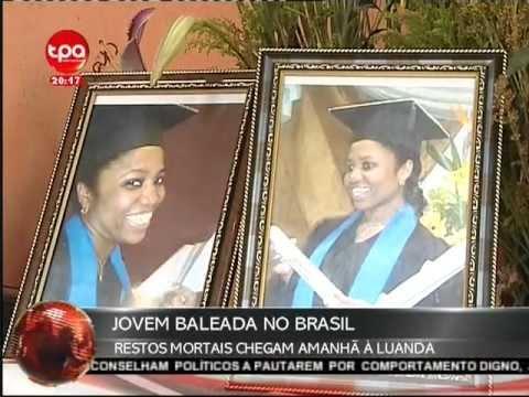 Jornal Nacional Angola - Angolana Assassinada no Brasil