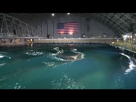 This \'indoor ocean\' can simulate the world\'s worst wave conditions