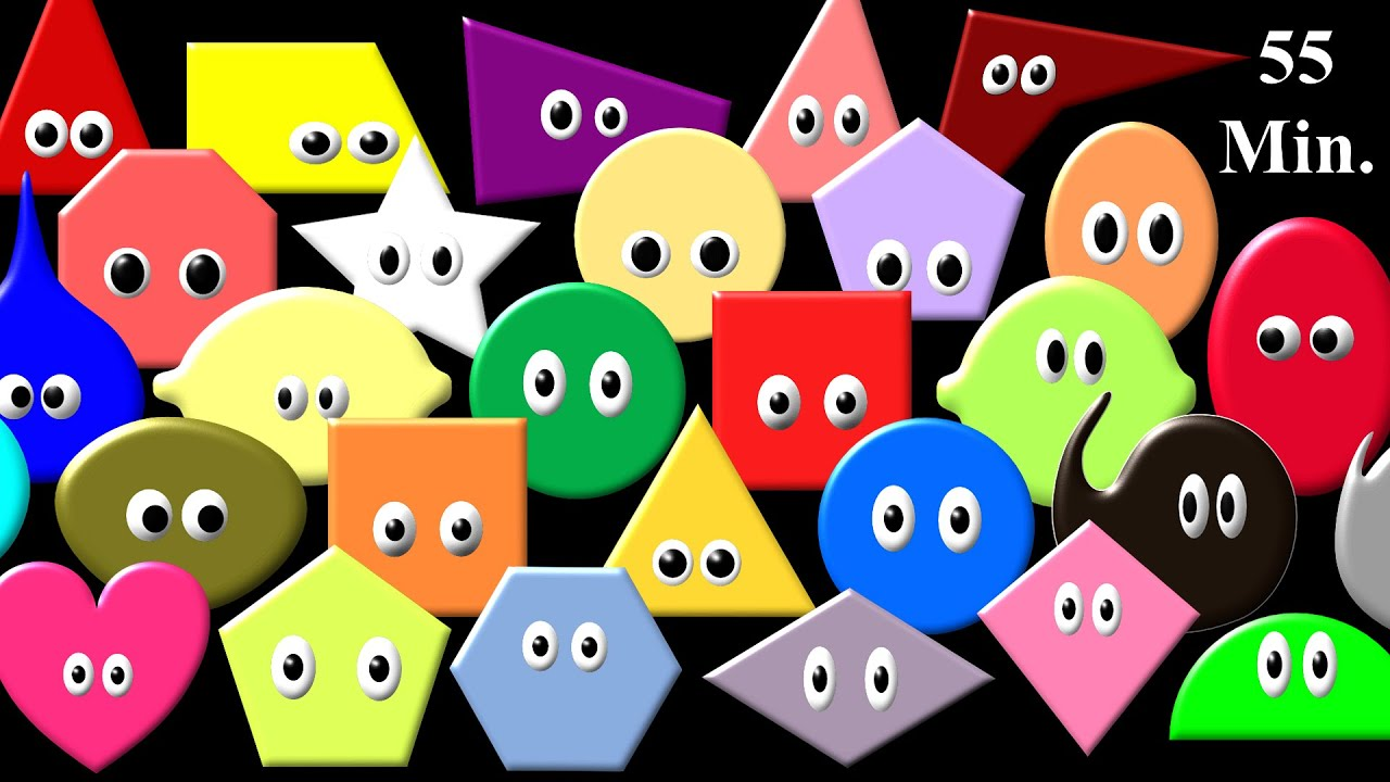 Worksheet Shapes And Colors shapes colors collection shape song more the kids picture show fun educational youtube