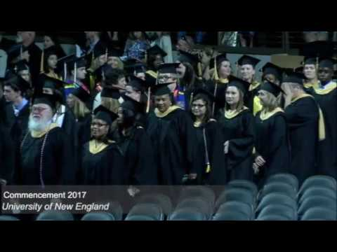 2017 University of New England Commencement