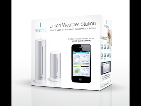 Netatmo Weather Station - for iOS and Android Devices