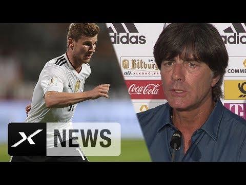 Joachim Löw ohne Verständnis für Pfiffe gegen Timo Werner | Deutschland - San Marino 7:0 | WM-Quali