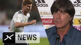 Joachim Löw ohne Verständnis für Pfiffe gegen Timo Werner   Deutschland - San Marino 7:0   WM-Quali
