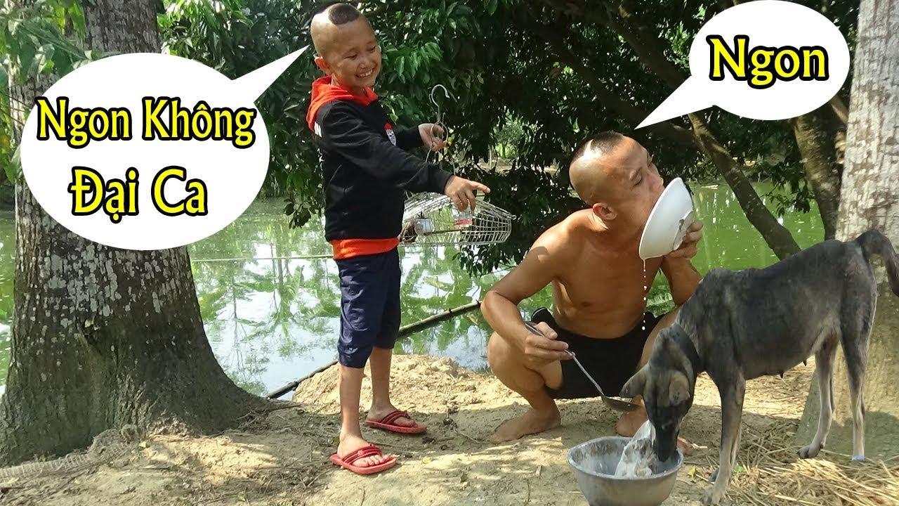 Mao Đệ Đệ Chế Biến Cháo Chó Cho Mao Ca Ăn - Tưởng Không Ngon Mà Ngon Không Tưởng ( Dog food )