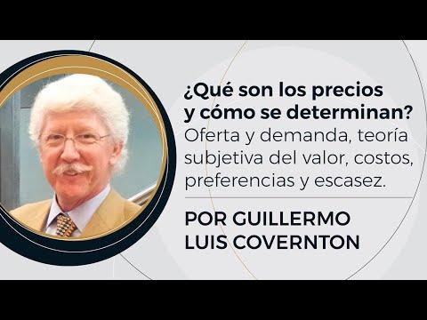 ¿Qué son los precios y cómo se determinan?   Prof: Guillermo Covernton - (3/10)
