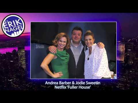 'Fuller House' Andrea Barber & Jodie Sweetin [12-09-2016]