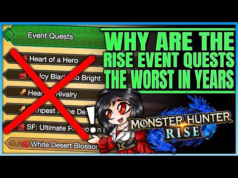 Whats Wrong With Rise Event Quests  Forgotten Fun  History of Event Quests  Monster Hunter Rise!