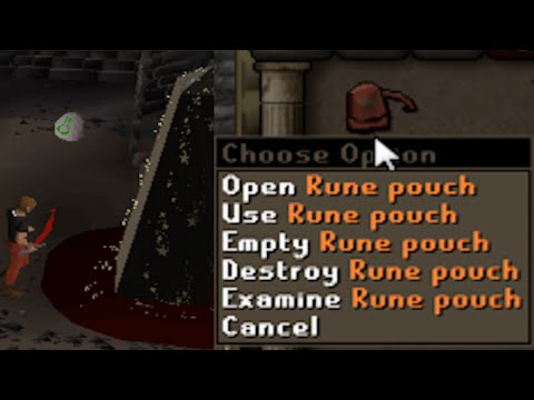 how to make pouches summon runescape