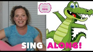 Children's Song: See Ya Later, Alligator - Animal Themed Goodbye Song for Toddlers & Preschool