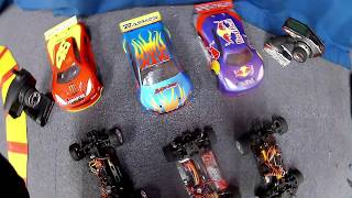 BSR Racing M.RAGE 4WD & Rc Turnigy 1/16 scale Mini Rally Extreme [ home-made bodywork]