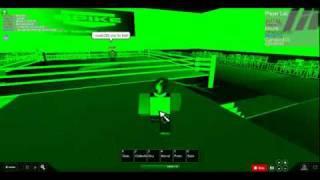 TNA Wrestling Roblox Stil: Matt Morgan Vs Mr.Anderson Contendership