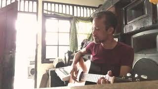 #anji - menunggu kamu ( akustik cover ) DAD FUNGKY