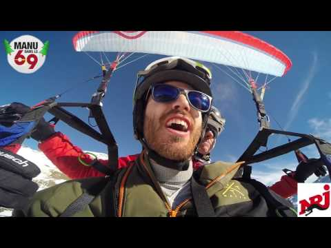 Manu dans le 6/9 - Manu vs. Glandu, Skis vs. Parapente
