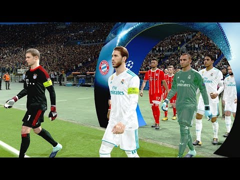 Bayern Munich vs Real Madrid | UEFA Champions League 25/04/2018 Gameplay