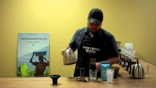 How to Brew Iced Coffee with an Aeropress