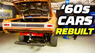 1960s Cars Rebuilt! Massive Horsepower Added | Hot Rod Garage | MotorTrend