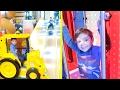 VLOG - PARCOURS INDOOR & SALLE D'ARCADE - Fun Indoor Playground for Kids