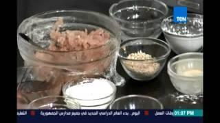 مطبخ تن |طريقة عمل برجر اللحم - برجر الفراخ - اللاشون | 25سبتمبر