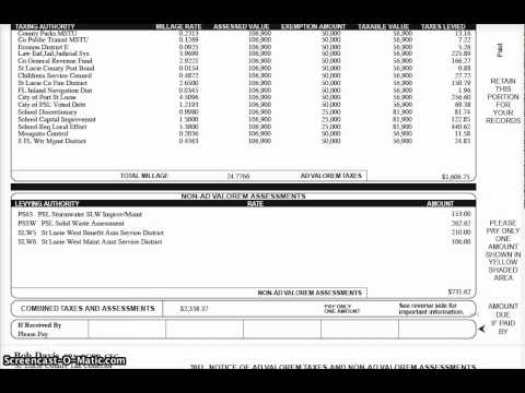 Property Tax - St. Lucie County Property Tax | SLC Tax ...