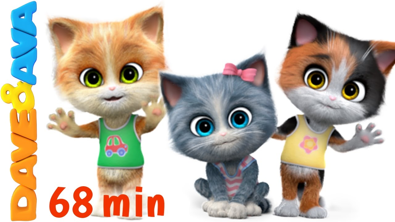 Download 😻 Nursery Rhymes Songs Collection | 60 min 3D English Nursery Rhymes & Baby Songs from Dave and Ava