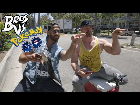 Bros vs. Pokémon Go