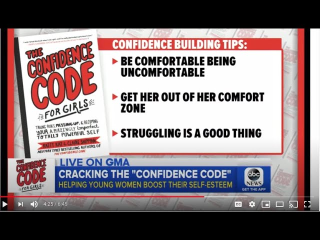Live on GMA: Cracking the Confidence Code