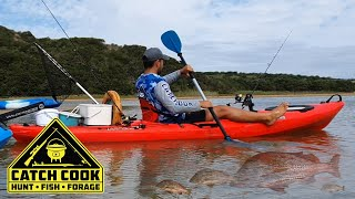 Catching Grunter from a Kayak in the Ciskei [CATCH COOK]