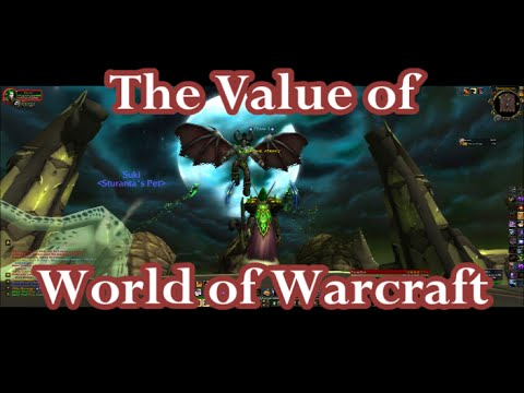 Legion Release is August 30 -The Loss of Value in World of Warcraft and Gaming in General