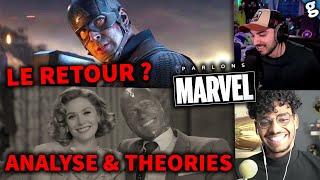 ANALYSE/THEORIES début WandaVision ! Retour Chris Evans \u0026 ACTUS ! 100% Marvel (SPOILS)