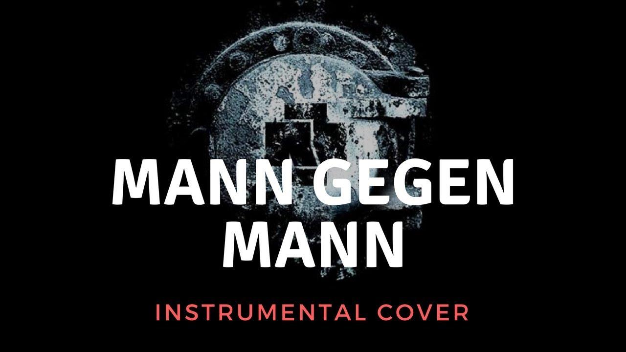 rammstein mann gegen mann instrumental cover live