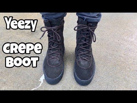 eb35bf18f66 Yeezy Crepe Boot