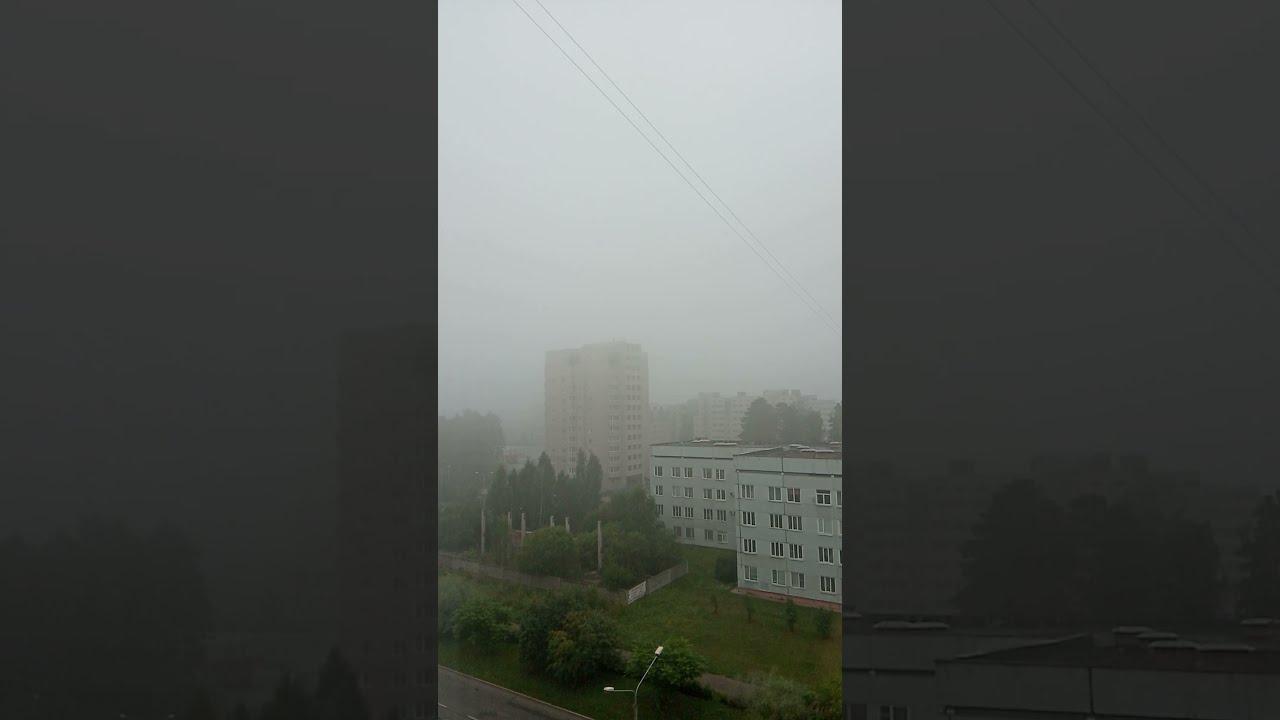 Смог от лесных пожаров в Якутии добрался до Красноярска.Пахнет гарью и трудно дышать.