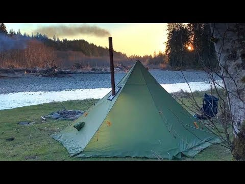 3 Days Alone | Hot Tenting and Looking for Elk