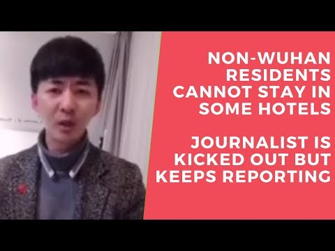【#Wuhan #Pandemic】Chen Qiushi is kicked out of the hotel, keeps reporting (3) #coronavirus  #秋实