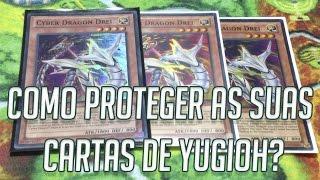 Como proteger as suas cartas de Yugioh?