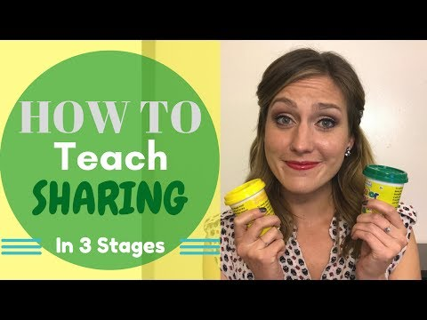 How to Teach Sharing in 3 Stages