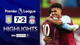 Watkins scores hat-trick as Villa stun Liverpool | Aston Villa 7-2 Liverpool | EPL League Highlights